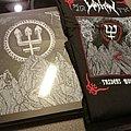 Watain - Tape / Vinyl / CD / Recording etc - Watain Trident Wolf Eclipse | Deluxe Silver Vinyl Boxset