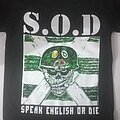 S.O.D. - TShirt or Longsleeve - S.O.D. Speak English Or Die T Shirt
