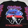 Sepultura - TShirt or Longsleeve - Sepultura Schizofrenia Long Sleeve Black T Shirt