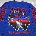 Sepultura - TShirt or Longsleeve - Sepultura Schizofrenia Blue Long Sleeve T Shirt