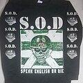 S.O.D. - TShirt or Longsleeve - S.O.D. Speak English Or Die Long Sleeve T Shirt