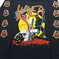 Slayer Reign In Blood Tour t shirt