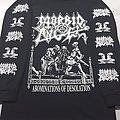 Morbid Angel Abominations of Desolation Long Sleeve T Shirt