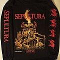 Sepultura - TShirt or Longsleeve - Sepultura Arise long sleeve t shirt