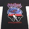Sepultura - TShirt or Longsleeve - Sepultura schizofrenia black t shirt