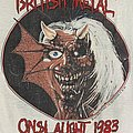 Iron Maiden - TShirt or Longsleeve - Iron Maiden Brain Damage in Canada 1983 (French Version)