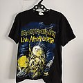 Vintage 1985 iron maiden Live After Death tshirt