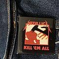 Kill em all pin Pin / Badge