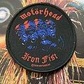 Motörhead - Patch - Iron fist patch