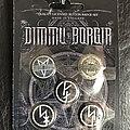 Dimmu Borgir - Pin / Badge - Dimmu Borgir button badge set