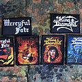 Mercyful Fate + King Diamond patches