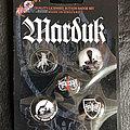 Marduk button badge set