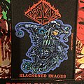 """Mortuary - Patch - Mortuary. """"Blackened Images""""."""