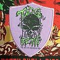 """Toxodeth - Patch - Toxodeth """"Morbidest Reality/Lo mas mórbido de la realidad""""."""