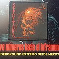 "Sepultura - Patch - Sepultura ""Beneath the Remains""."