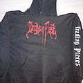 DEEDS OF FLESH  ''Trading Pieces'' Hooded TShirt or Longsleeve