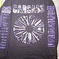 CARCASS  1992 tour long sleeve (reprint) TShirt or Longsleeve