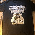 "Hyperdontia ""Aura of Flies"" split shirt with Mortiferum"