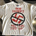 Dead Kennedys - TShirt or Longsleeve - Vintage Original 1980s Dead Kennedys Tee Single Stitch