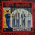 Cryptic Slaughter - Patch - Cryptic slaughter-Convicted (woven patch)