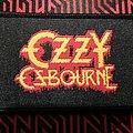 Ozzy Osbourne - Patch - Ozzy Osbourne-Logo (woven patch)