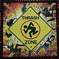 D.R.I. - Patch - D.R.I.-Thrash zone woven  patch