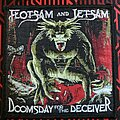 Flotsam And Jetsam - Patch - Flotsam and jetsam-Doomsday for the deceiver (woven patch)