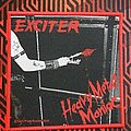 Exciter - Patch - Exciter-Heavy metal maniac (woven patch)