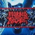 Morbid Angel - Patch - Mórbid angel-Altars of madness woven patch