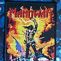 Manowar - Patch - Manowar-kings of metal patch