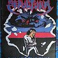 Sepultura - Patch - Sepultura-schizophrenia woven back patch