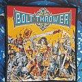 Bolt Thrower - Patch - Bolt thrower-War master patch