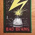 Bad Brains Green Border Patch