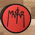 Mantar - Patch - Mantar red round logo patch