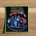 Infectious Grooves - The Plague That Makes... patch - green border