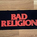 Bad Religion logo patch