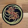 Sepultura  round bones logo patch
