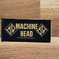 Machine head logo mini-stripe patch