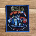 Infectious Grooves - The Plague That Makes... patch - blue border