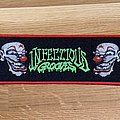 Infectious Grooves logo strip patch - red border