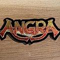 Angra shaped logo patch