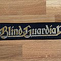 Blind Guardian - Patch - Blind Guardian logo stripe patch