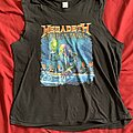 Megadeth - TShirt or Longsleeve - Megadeth Rust In Peace sleeveless shirt