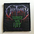Obituary - Patch - Slowly we Rot