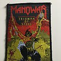 Manowar - Patch - Triumph of Steel