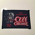 Ozzy Osbourne - Patch - Ultimate Sin