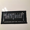 Manowar - Patch - Warriors of the World