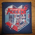 Accept- Metal Heart vintage patch