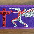 Black Sabbath purple strip patch