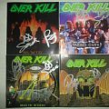Overkill CD's Tape / Vinyl / CD / Recording etc
